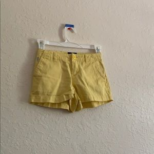 Polo yellow shorts